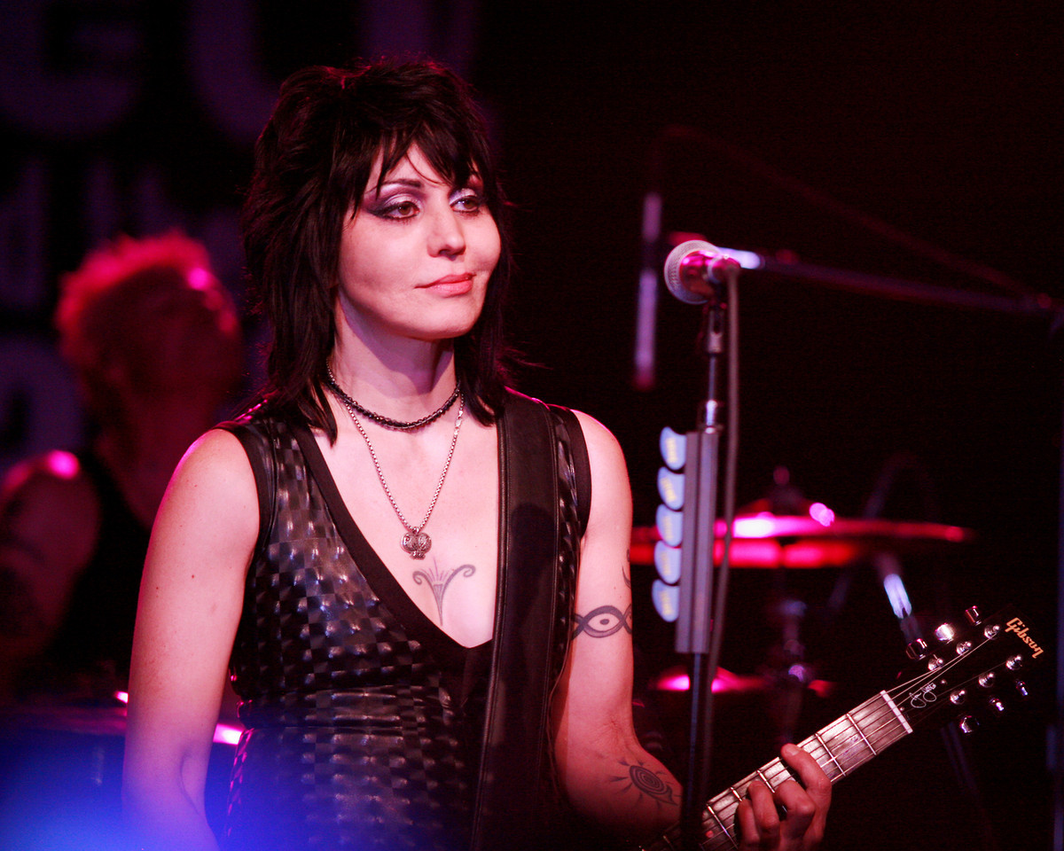 Joan Jett and her band the Blackhearts headline the Marin County Fair in San Rafael, Calif. on Monday,  July 2, 2012.  (Special to the IJ/ James Cacciatore)