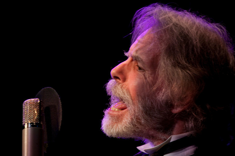 Bob Weir sings with the Marin Symphony in a performance featuring the music of the Grateful Dead at the Marin Veterans Memorial Auditorium in San Rafael, Calif. on Saturday, May 7, 2011. (Special to the IJ/ James Cacciatore)