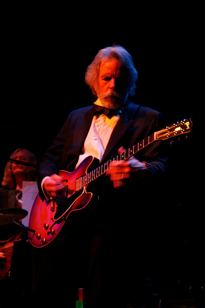 Bob Weir collaborates with the Marin Symphony in a performance featuring the music of the Grateful Dead at the Marin Veterans Memorial Auditorium in San Rafael, Calif. on Saturday, May 7, 2011. (Special to the IJ/ James Cacciatore)