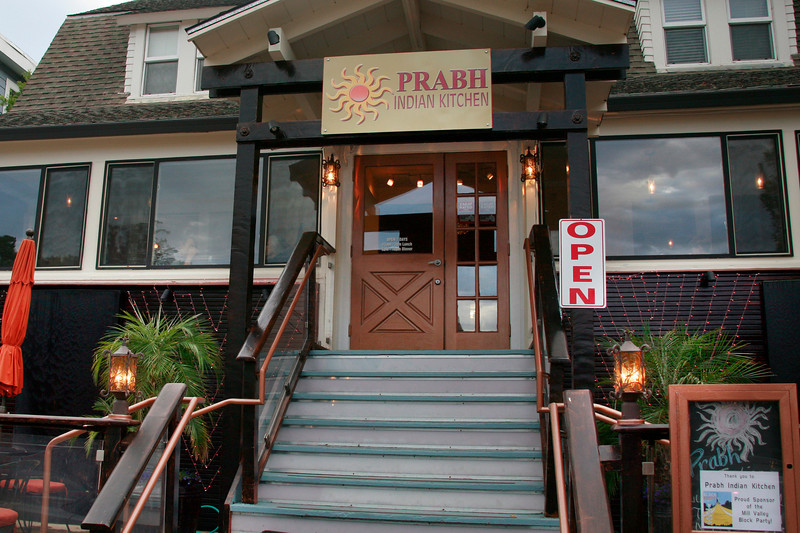 Prabh Indian Kitchen on Sunnyside Avenue in Mill Valley, Calif. Wednesday, September 5, 2012. (Special to the IJ/James Cacciatore)
