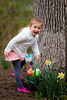 Mia finds her Easter basket - 2016-03-27