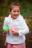 Mia collecting eggs - 2016-03-27