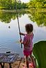 Mia catches a fish - 2016-05-28