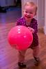 Nina and a ball 1 - 2016-05-17
