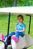 More Mia on the golf cart - 2016-05-29