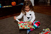 Mia opening a present - 2016-12-25