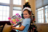 Mia with a Hatchimals game - 2017-12-25