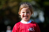 Mia looking a bit like a rugby player - 2017-10-22