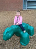 Mia at the playground - 11-2-2013