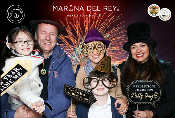 12.31.18  Marina del Rey New Year's Eve Photo Booth
