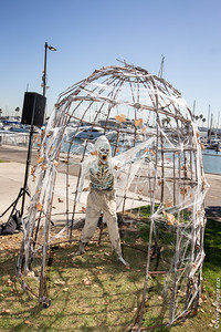 Marina SPOOKTACULAR.  Photo by Venice Paparazzi