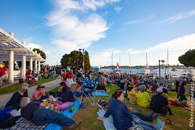 Jon Batiste at Marina del Rey Summer Concerts.  Photo by Venice Paparazzi