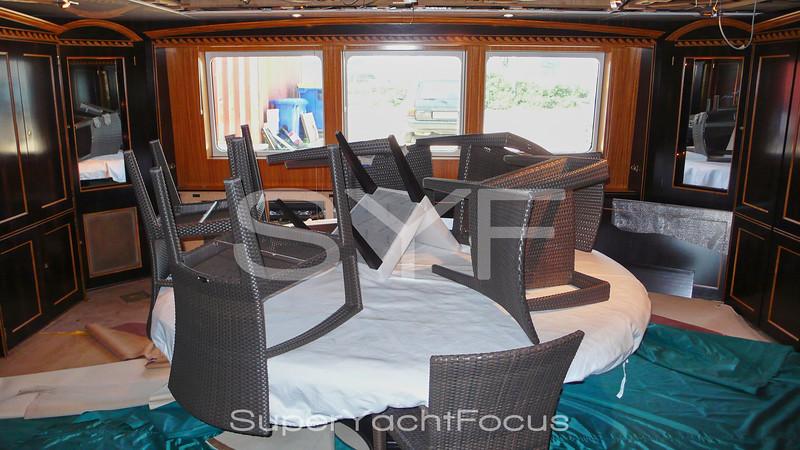 Yacht refit