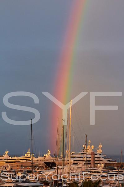 Rainbow,Port Vauban,Antibes