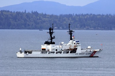 Oil Effect - USCG Cutter 717 - April 2018