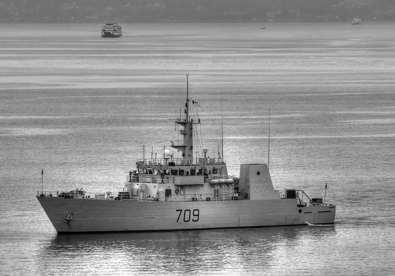 Canadian Warship 709 - August 2016
