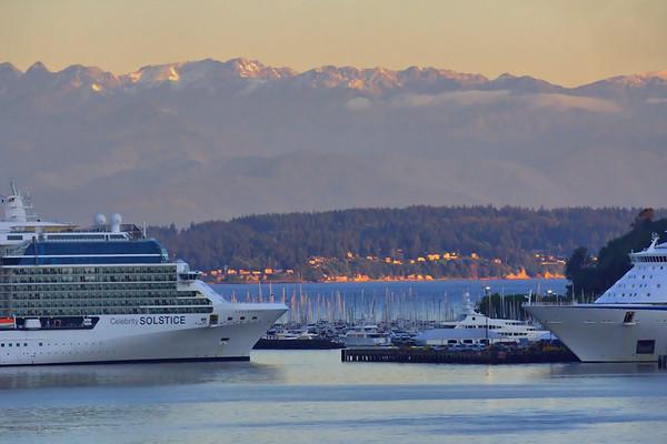 June 2016, Marina, Cruise Ships, Olympics