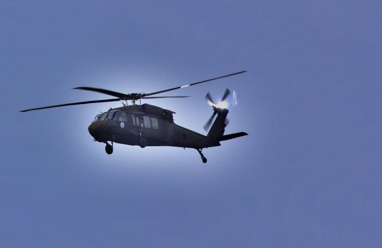 Black Hawk Fly By - October 2016