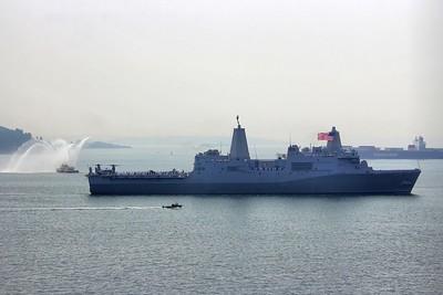 USS Anchorage August 2017