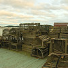 "Traditional Wood Lobster Traps (""pots"")"