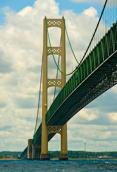 Mackinac Bridge, Straits of Mackinaw, Michigan