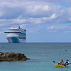 Ruby Princess from Princess Cays, Bahamas
