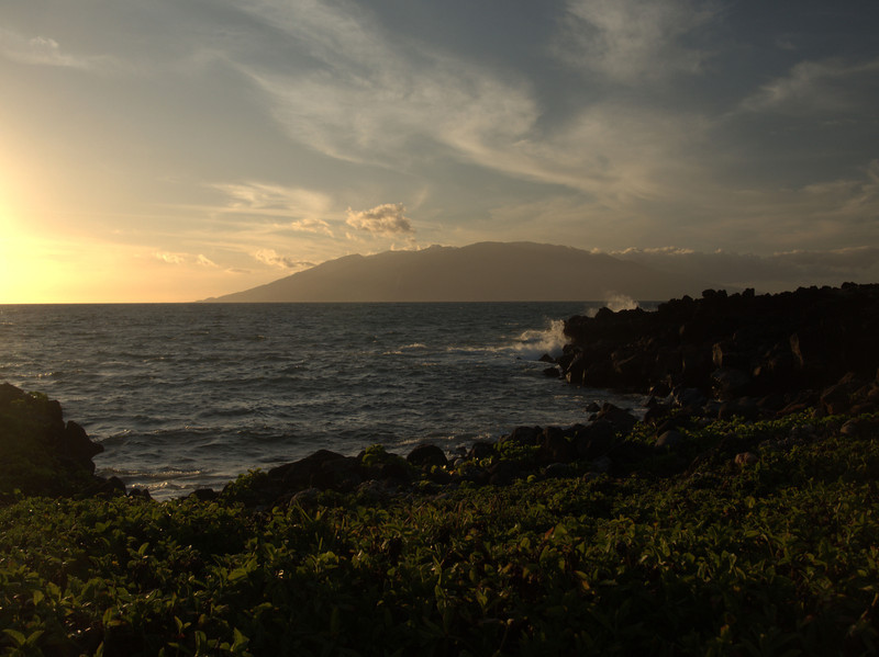 Near sunset - West maui