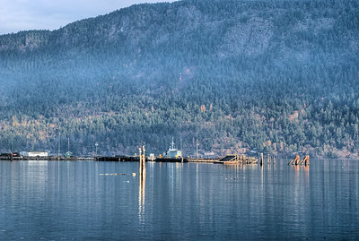 """Cowichan Bay Marina - Cowichan Bay, BC, Canada Visit our blog """"A Winter's Morning On The Bay"""" for the story behind the photo."""