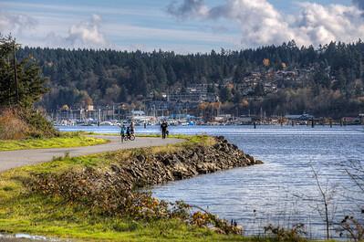 Cowichan Estuary - Cowichan Bay, Vancouver Island, British Columbia, Canada