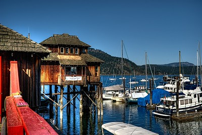 "Cowichan Bay Marina - Cowichan Bay, BC, Canada Visit our blog ""These Are A Few Of My Favourite Things"" for the story behind the photo."