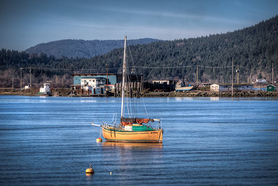 """Cowichan Bay Oceanscape - Cowichan Bay, Vancouver Island, BC, Canada Please visit our blog """"Thank God It's Friday"""" for the story behind the photo."""