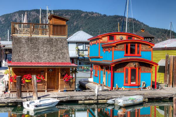 Floathome - Cowichan Bay Marina - Cowichan Bay, BC, Canada