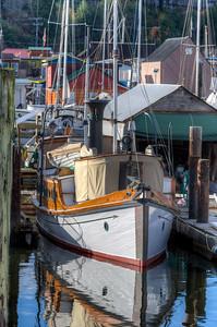 Sailboat - Cowichan Bay, Vancouver Island, British Columbia, Canada