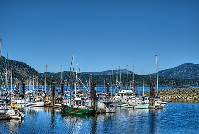 """Cowichan Bay Marina - Cowichan Bay, BC, Canada Visit our blog """"Looking Out View"""" for the story behind the photo."""