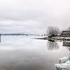Cowichan Bay Winter Seascape - Cowichan Bay, Vancouver Island, British Columbia, Canada