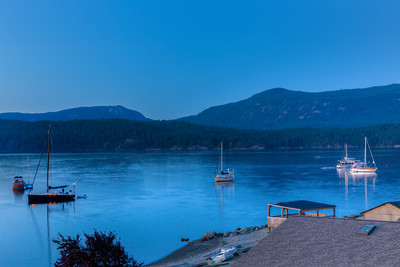 Evening at Cowichan Bay - Cowichan Bay, Vancouver Island, British Columbia, Canada