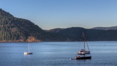 Lazing In The Bay - Cowichan Bay, Vancouver Island, British Columbia, Canada