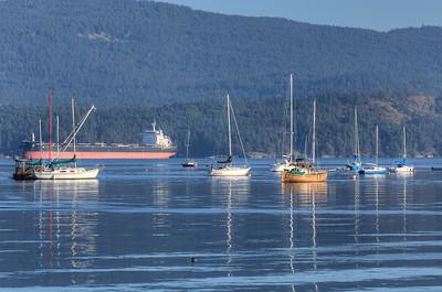 Cowichan Bay, Vancouver Island, British Columbia, Canada