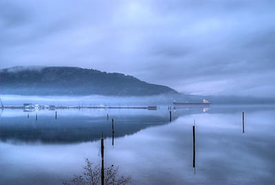 """""""Safe Harbour"""" - Cowichan Bay Marina - Cowichan Bay, BC, Canada Visit our blog """"Chief Tzouhalem's Mighty Mountain"""" for the story behind the photo."""