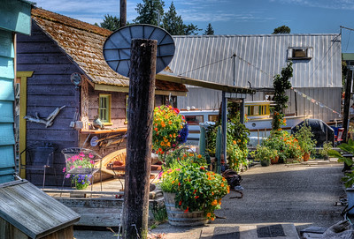 """Genoa Bay Marina - Cowichan Valley, BC, Canada Visit our blog """"Marina With No Peer"""" for the story behind the photo."""