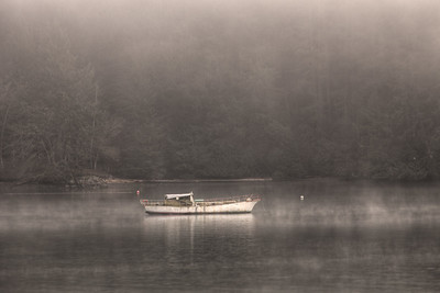 Ghost Ship - Genoa Bay, Vancouver Island, British Columbia, Canada
