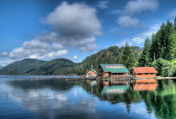 Great Central Lake - Vancouver Island, BC, Canada