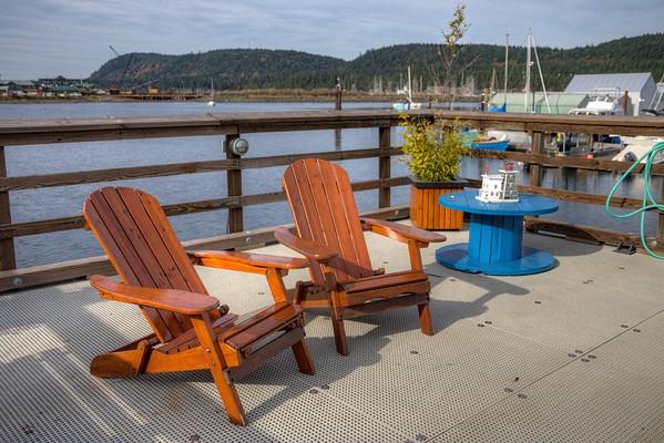 Marine Scenery - Ladysmith Marina, Ladysmith, Vancouver Island, BC, Canada