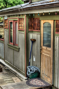 """House Boats - Wooden Boat Festival - Maple Bay Marina, BC, Canada Visit our blog """"A Door Like No Other"""" for the story behind the photos."""