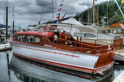 "Chris-Craft Classic Boat - Wooden Boat Festival - Maple Bay Marina, BC, Canada Visit our blog ""Mahogany Beauty"" for the story behind the photos."