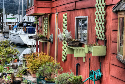 """House Boats - Wooden Boat Festival - Maple Bay Marina, BC, Canada Visit our blog """"Tree Spirits Among Us"""" for the story behind the photos."""