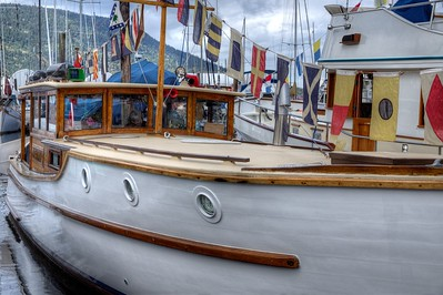 Wooden Boat Festival - Maple Bay Marina, Cowichan Valley, Vancouver Island, BC, Canada