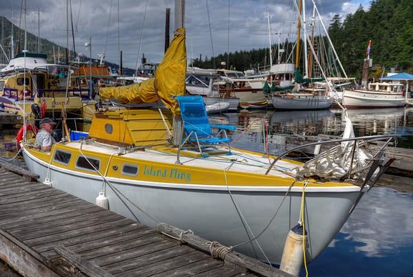 Maple Bay Wooden Boat Festival - Maple Bay, Vancouver Island, BC, Canada