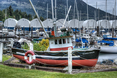 """The Jessica Wilde - Wooden Boat Festival - Maple Bay Marina, BC, Canada Visit our blog """"The Jessica Wilde"""" for the story behind the photo."""