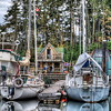 """House Boats - Wooden Boat Festival - Maple Bay Marina, BC, Canada Visit our blog """"<a href=""""http://toadhollowphoto.com/2011/05/27/life-on-a-house-boat/"""">Life On A House Boat</a>"""" for the story behind the photos."""